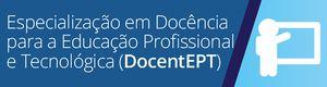 Especialização em docência EPT
