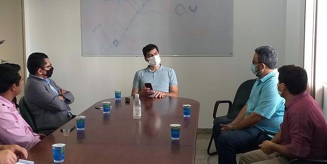 Reitor do IFMT visita Centro de Referência de Campo Verde e se reúne com prefeito
