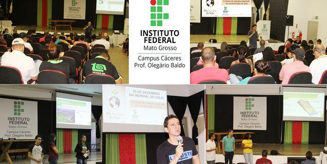 Dia Mundial do Solo: IFMT Campus Cáceres realiza intervenções sobre conservação do solo e sustentabilidade do planeta