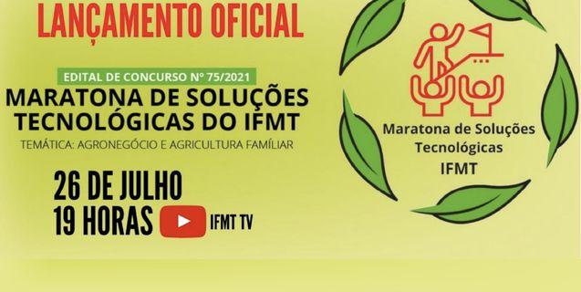 Propes convida comunidade acadêmica para a cerimônia de abertura da Maratona de Soluções Tecnológicas do IFMT