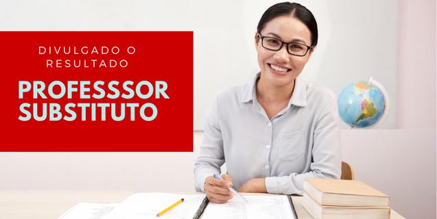 Propessoas: Homologado resultado do processo seletivo para contratação de professor substituto
