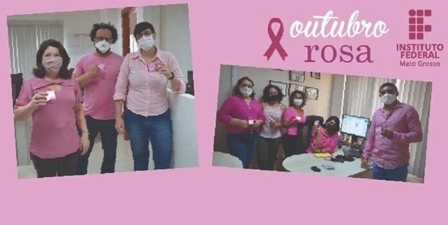 IFMT promove Campanha Outubro Rosa na batalha contra o câncer de mama
