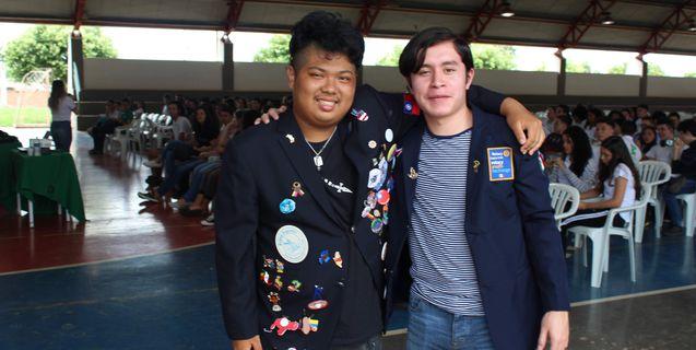 Campus Rondonópolis recebe a visita de intercambistas do México e de Taiwan