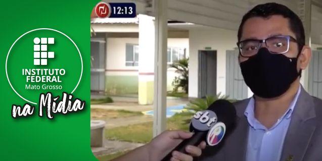 IFMT na Mídia: Visita do reitor ao município de Campo Verde é notícia na TV
