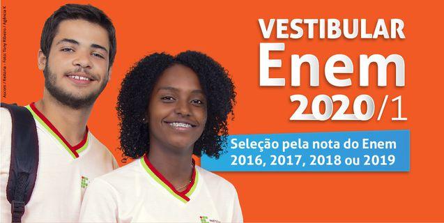 IFMT: Inscrições abertas para o Vestibular ENEM 2020/1 com 504 vagas