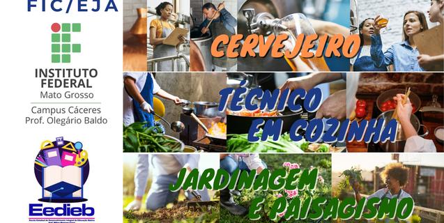 IFMT Cáceres oferta três novos cursos de Formação Inicial e Continuada para estudantes da EJA