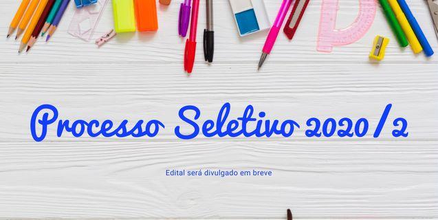 Processo Seletivo 2020/2: Edital previsto para ser lançado em março