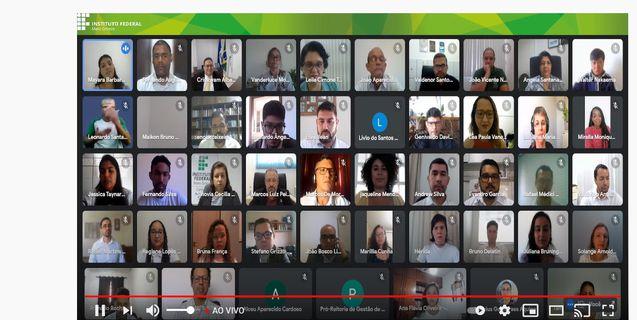 IFMT realiza cerimônia de posse online para 27 novos servidores federais