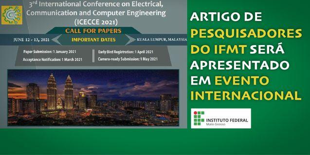 Projeto desenvolvido pelo IFMT para Sesp-MT será apresentado em conferência internacional